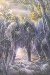 Immagine Signore degli Anelli realizzata da Alan Lee